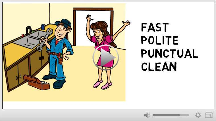 Plumber Whiteboard Video Commercial