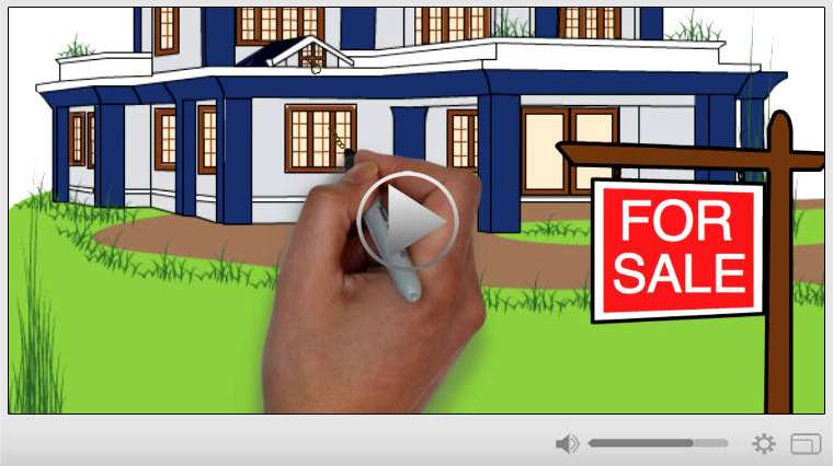 Buying a Home Real Estate Whiteboard Video Commercial