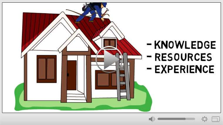 Roofing Business Whiteboard Video