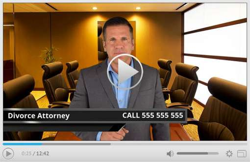Divorce Attorney Spokesperson Video