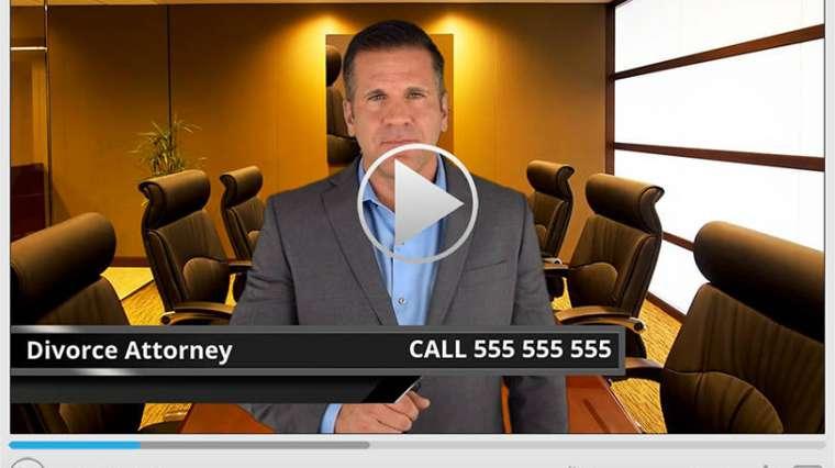 Divorce Attorney Spokesperson Video