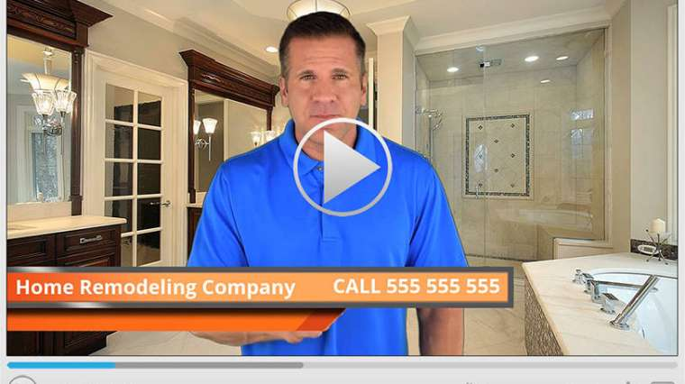 Home Remodeling Company Spokesperson Video