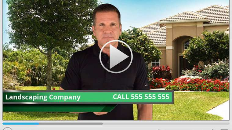 Landscaping Spokesperson Video