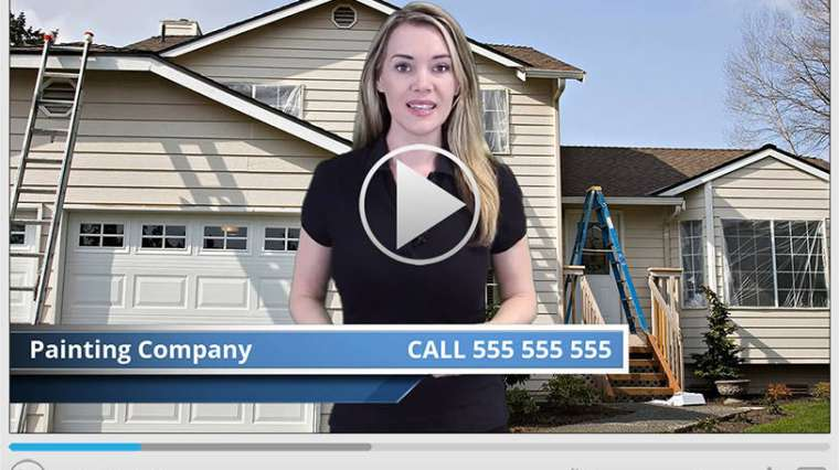 Painting Contractor Spokesperson Video