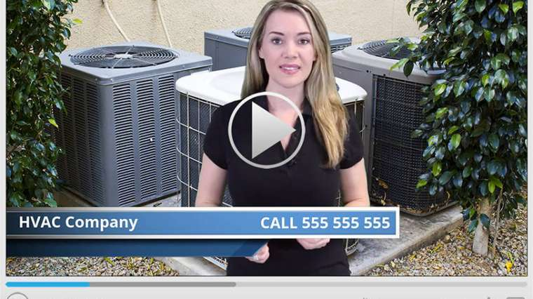 HVAC Services Spokesperson Video