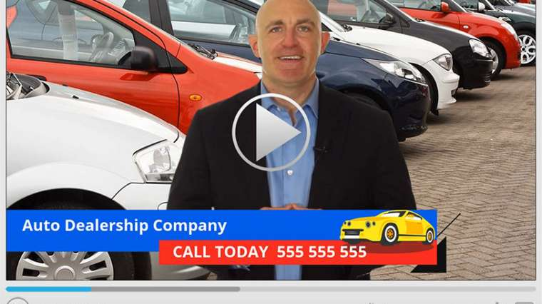Auto Dealer Spokesperson Video Commercial