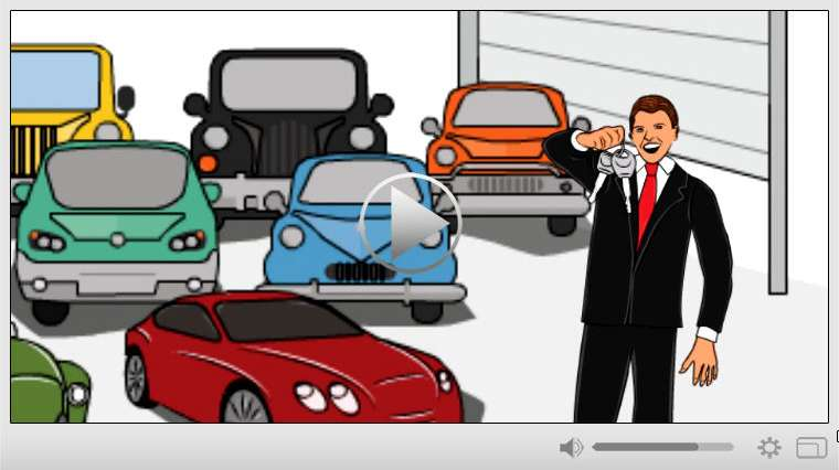 Used Car Dealer Whiteboard Video Commercial
