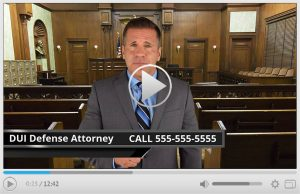 Done For You DUI Attorney Spokesperson Video Commercial
