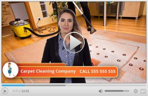 Done For You Carpet Cleaning Company Spokesperson Video Commercial