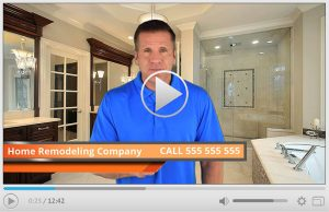 Done For You Home Remodeling Company Spokesperson Video Commercial