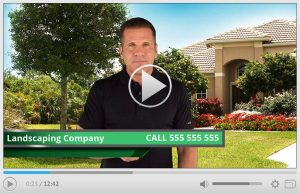 Done For You Landscaping Company Spokesperson Video Commercial