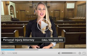 Done For You Personal Injury Attorney Spokesperson Video Commercial