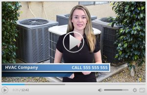 Done For You HVAC Company Spokesperson Video Commercial