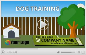 Dog Training Animation Video Commercial