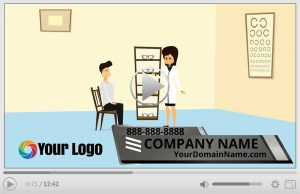 Optometrist Animation Video Commercial