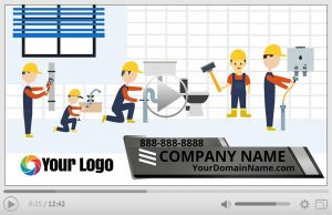 Plumber Animation Video Commercial